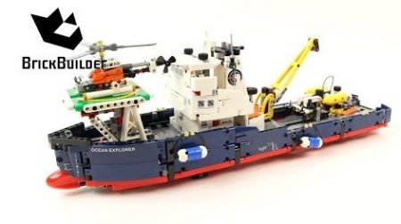 Lego Technic 42064 Ocean Explorer – Lego Speed Build