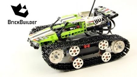Lego Technic 42065 RC Tracked Racer – Lego Speed Build