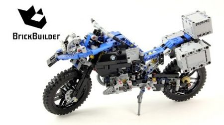 Lego Technic 42063 BMW R 1200 GS Adventure – Lego Speed Build