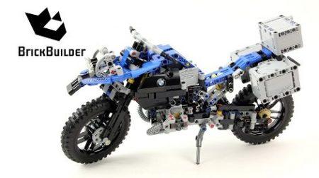 Lego Technic 42063 BMW R 1200 GS Adventure – Lego Speed Build