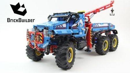 Lego Technic 42070 6×6 All Terrain Tow Truck – Lego Speed Build