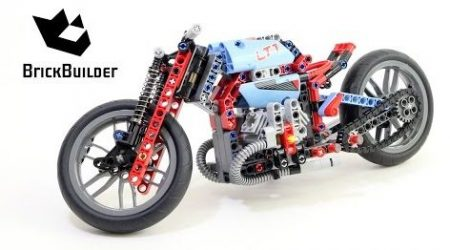 Lego Technic 42036 Retro Bike – Lego Speed Build