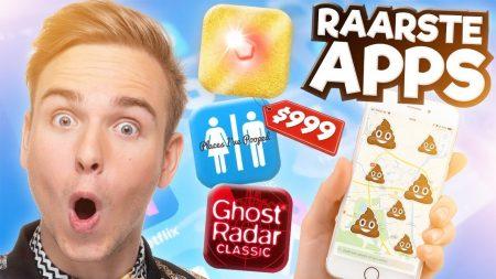 Dylan Haegens – 10 Raarste Apps!