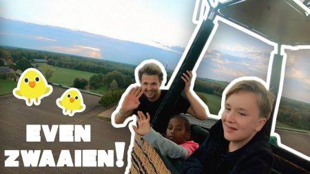 Betreden Op Eigen Risico – Zwaaien Vanuit Een Luchtballon!