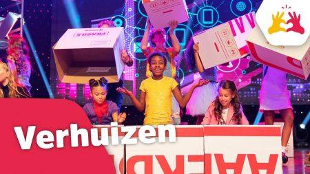 Kinderen voor Kinderen – Verhuizen (Live in Concert 2018)