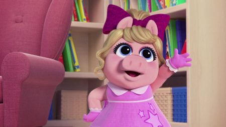 Muppet Babies – Piggy Is Een Superheld