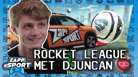 Zappsport – Djuncan Verklapt Al Zijn Rocket League Geheimen