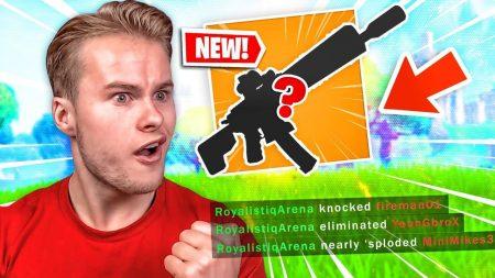 Royalistiq – Ik Presenteer Jullie: Mijn Nieuwe Favoriete Wapen!! – Fortnite Arena