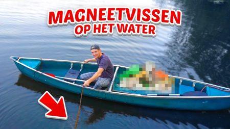 Enzo Knol – Magneetvissen Op Het Water – Vlog #2112