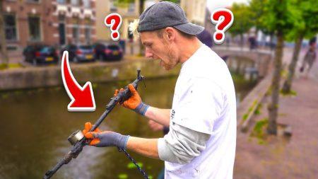 Enzo Knol – Wapen Uit 2e Wereld Oorlog Gevonden Met Magneetvissen! – Vlog #2114
