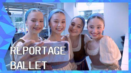 Zappsport – Zenuwen Voor Het Zwanenmeer – Reportage Ballet