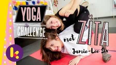 Zita – Yoga-Challenge Met Zita En Jamie-Lee