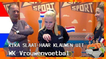 Zappsport WK Vrouwenvoetbal – Plassen Onder De Douche? – Vader Lieke Martens Krijgt Ontbijt Van Marije