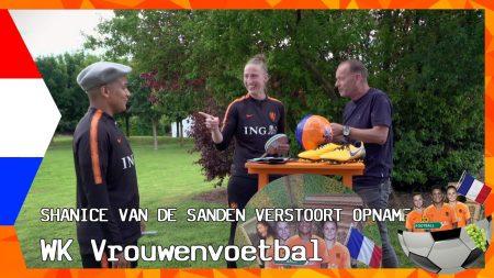 Zappsport WK Vrouwenvoetbal – Sari Van VeendenDaal Knuffelt Er Op Los – Win De Bal Van Kika Van Es
