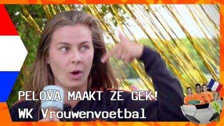 Zappsport WK Vrouwenvoetbal – De Selectie OranjeBiggetjes Van Marije Zuurveld – Kaasschuiven Met Kaagman