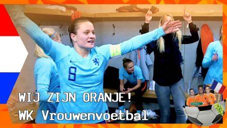 Zappsport WK Vrouwenvoetbal – Oranje Klaar Voor De Finale – Het Dak Eraf Met De Oranjeleeuwinnen
