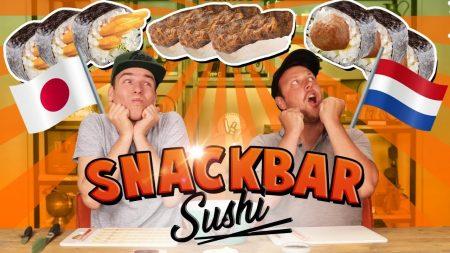 Team Dylan Haegens – Snackbar Sushi Maken!