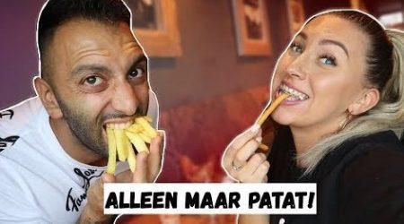 Familie Lakap – Laatste Die Stopt Met Patat Eten Wint!! – Vlog #292