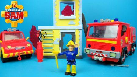 Brandweerman Sam Trainingstoren Van Simba – Uitpakken en Spelen