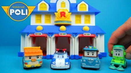 Robocar Poli Hoofdkwartier Speelset – Uitpakken en Spelen