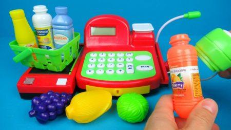 Speelgoed Kassa Met Accessoires – Uitpakken en Spelen
