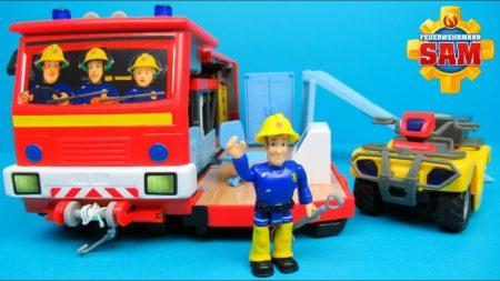 Brandweerman Sam 🚒 Auto En Kazerne 🔥 – Uitpakken en Spelen