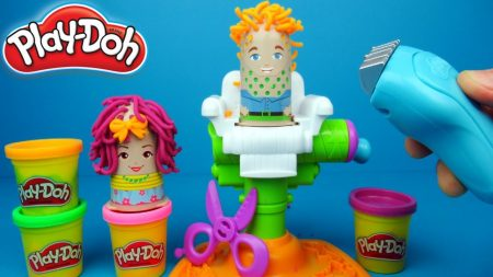 Play Doh Buzz 'n Cut Kapper Spelen – Uitpakken en Spelen