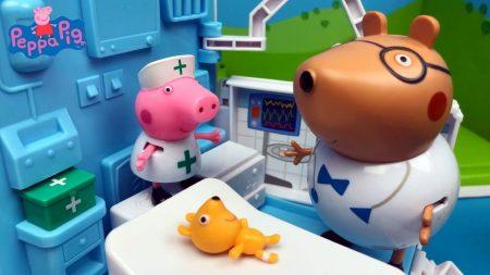 Peppa Pig Speelgoed Ambulance – Uitpakken en Spelen