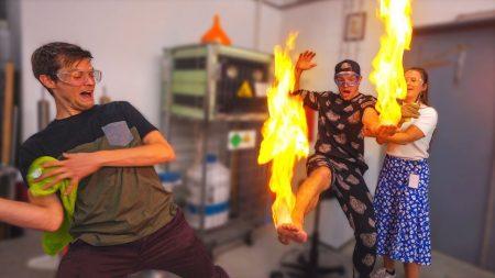 Enzo Knol – Experiment Met Vuur!! (Doe Dit Niet Na) – Vlog #2198