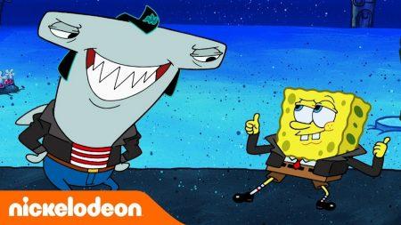 SpongeBob SquarePants – Chillen Met De Grote Haaien