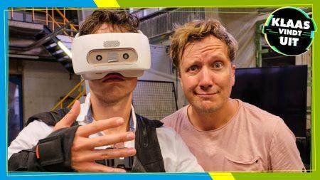 Klaas Kan Alles – Bizarre Battle In VR-Wereld – Klaas Vindt Uit #2