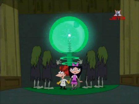Phineas & Ferb – Een Keer Schrikken…