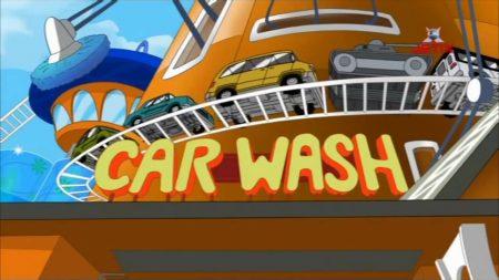 Phineas & Ferb – De Phin-tastische Ferb-uleuze Wasstraat