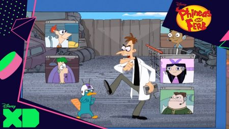 Phineas & Ferb – Perry De Videogame