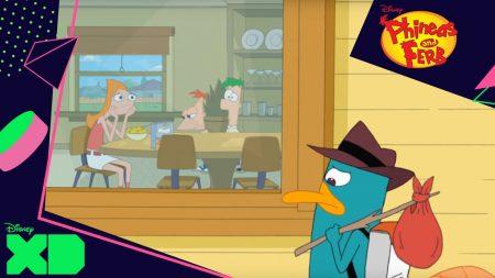 Phineas & Ferb – Perry Moet Weg