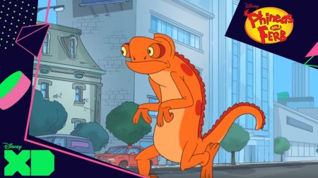 Phineas & Ferb – Reuze Hagedis