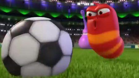 Larva – Voetbalwedstrijd