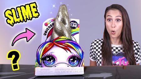 MeisjeDjamila – Verpletter Deze Unicorn Hoorn Voor Een Geweldige Verrassing! – Poopsie Unicorn Crush – Slime Sunday