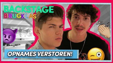 Brugklas – S8 – Niek En Vincent Verstoren De Opnames 🤪!