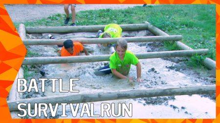Zappsport – Overleven Op Heftig Parcours: Wie Wint De Survival Run? – The Battle