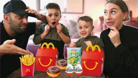 Familie Lakap – 1 Dag Hetzelfde Eetschema Eten Als De Kids! – Vlog #321