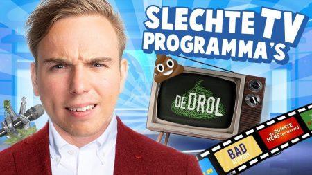 Dylan Haegens – 10 TV Programma's Die Het Nét Niet Hebben Gered!