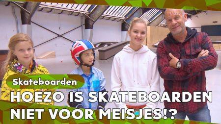 Zappsport – Wordt Het Hockey Of Skateboarden? – Hellup Met Roos Zwetsloot