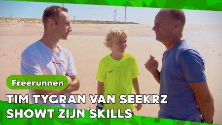 Zappsport – Freerunner Tim Tygrn Stoomt Thom Klaar Voor Het NK – Hellup