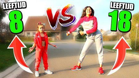 Celine & Michiel – 8 Jarige vs 18 Jarige – Gekke Dance Battle Met Toptalent #64