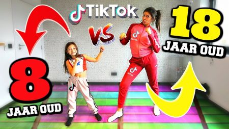 Celine & Michiel – Tik Tok Dance Battle vs 8 Jarig Wondkind! #70