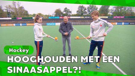 Zappsport – Tophockeyers 🏑 Eva De Goede En Jorrit Kroon Nemen Het Tegen Elkaar Op – Hockey