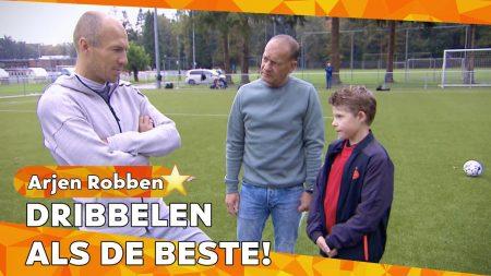 Zappsport – De Perfecte Dribbel Van Arjen Robben – Special Olympics