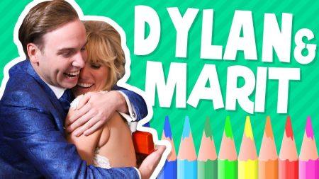 Team Dylan Haegens – Dylan & Martin Gaan Trouwen – Tekenen met Rick