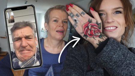 OnneDi – Ouders Reageren Op Mijn Nieuwe Tatto Op Mijn Hand